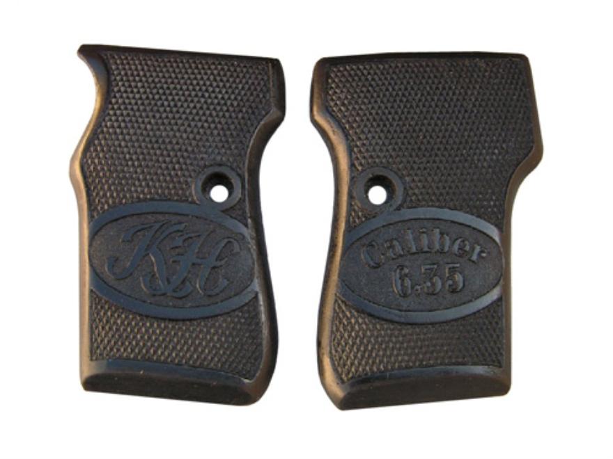 Vintage Gun Grips Helfricht Model 3 25 ACP Polymer Black