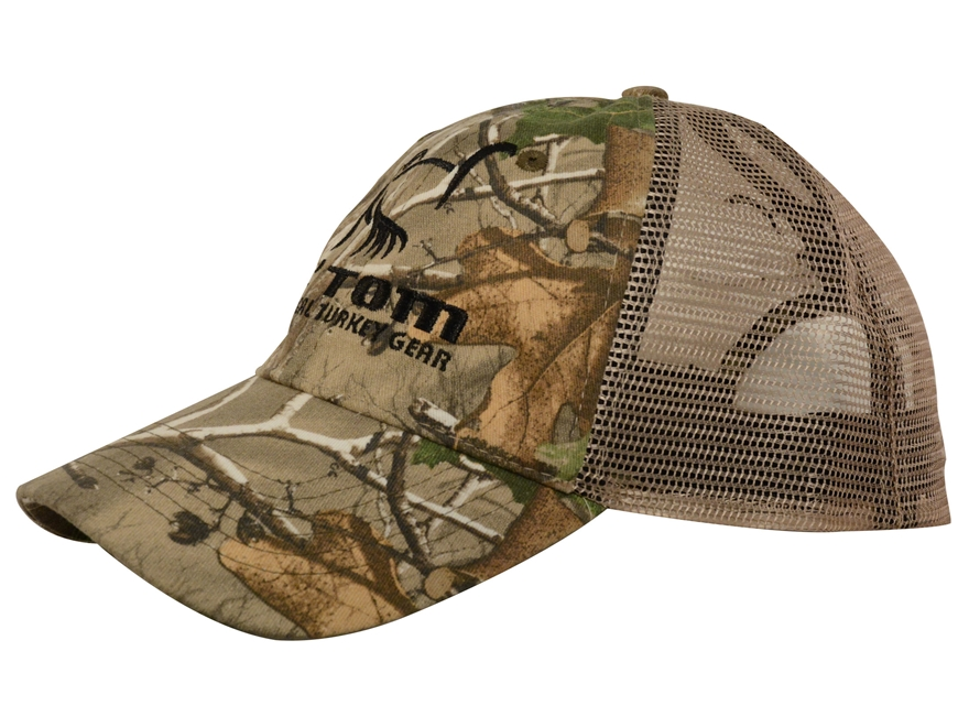 Ol' Tom Mesh Back Camo Cap Nylon and Polyester Realtree Xtra Green Camo