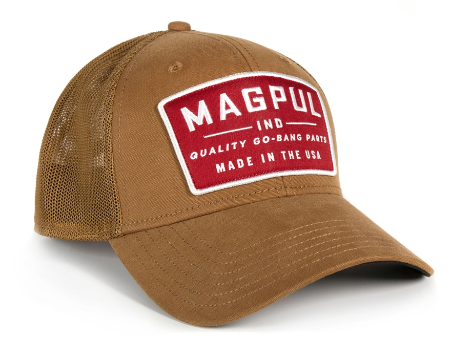 Magpul Go Bang Mid Crown Snapback Cap Cotton/Polyester