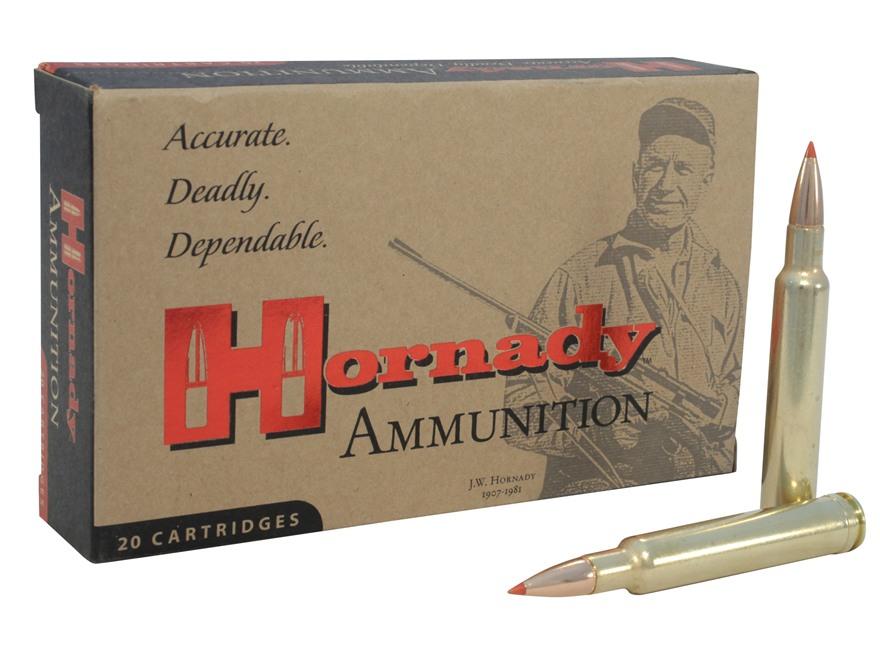 Hornady Custom Ammunition 300 Weatherby Magnum 150 Grain InterBond Box of 20