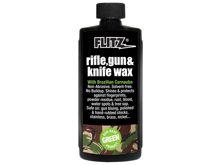 Flitz Rifle and Gun Wax Rust Preventative 7.6 oz Liquid