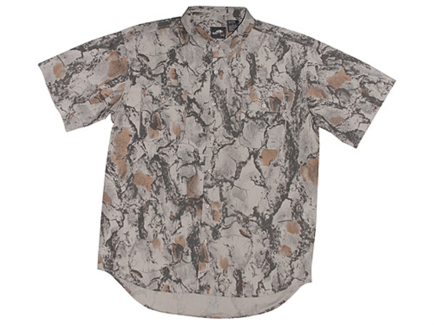 Natural Gear Men's Vented Lightweight Shirt Short Sleeve Polyester Natural Gear Natural...