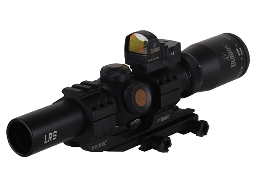 Burris Fullfield TAC30 Rifle Scope 30mm Tube 1-4x 24mm 1/2 MOA Adj Illuminated Ballisti...