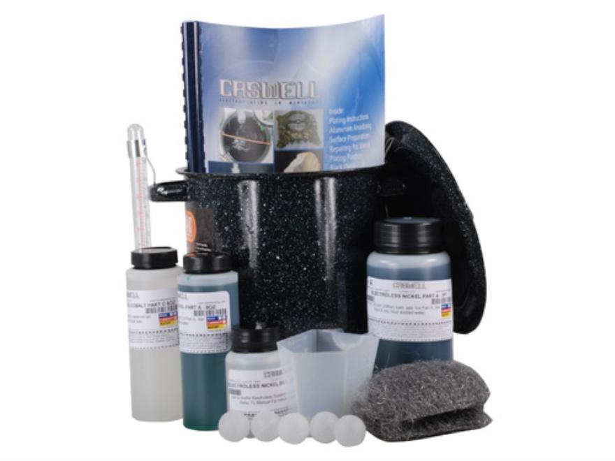 Caswell Mini Electroless Nickel Plating Kit