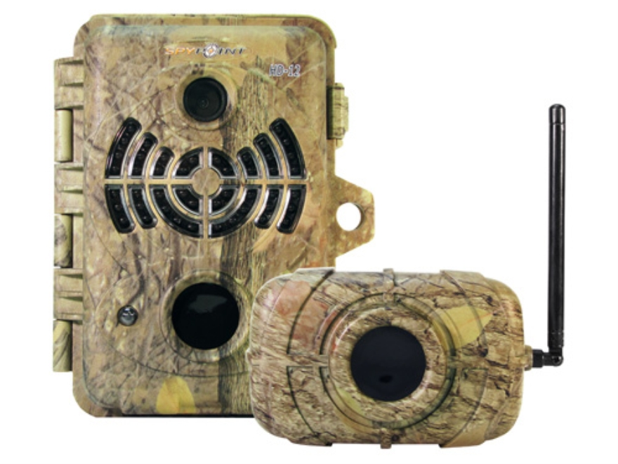 Spypoint HD-12 Infrared Game Camera 12.0 Megapixel with Viewing Screen Spypoint Dark Fo...