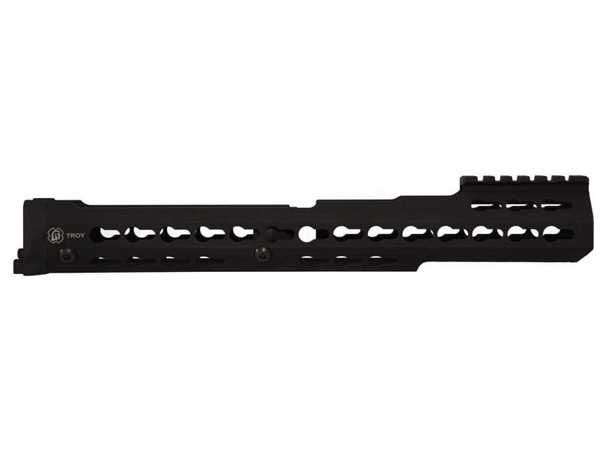 Troy Industries Extended KeyMod Handguard AK-47, AK-74 Stamped Receiver Aluminum Black