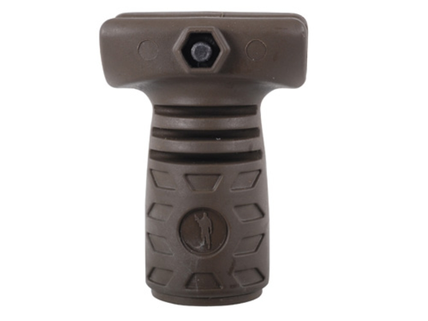 Command Arms Thunder 3 Finger Stubby Vertical Forend Grip with Storage Compartment AR-1...