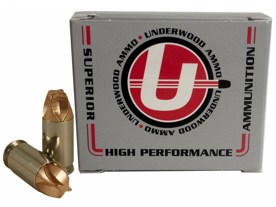 Underwood Xtreme Defender Ammunition 380 ACP 65 Grain Lehigh Xtreme Defense Lead-Free B...