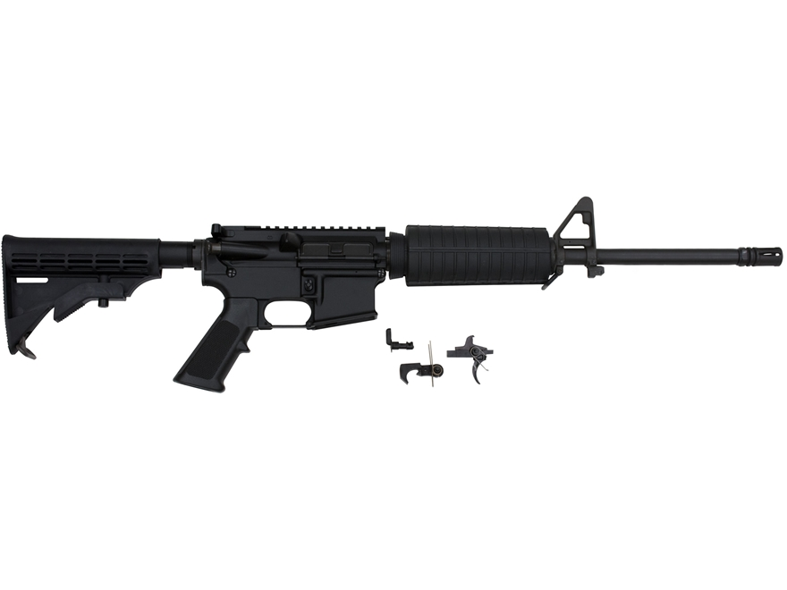 """AR-Stoner Carbine Kit with Complete Upper Assembly AR-15 7.62x39mm 1 in 10"""" Twist 16"""" B..."""