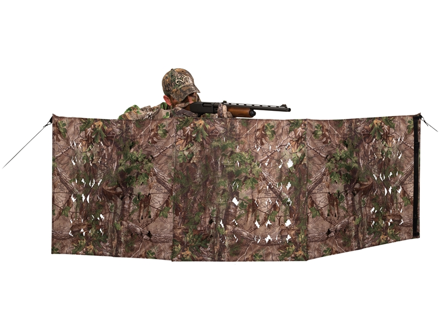 "Ameristep 4-Spur Ground Blind 96"" x 27"" Polyester Realtree Xtra Green Camo"