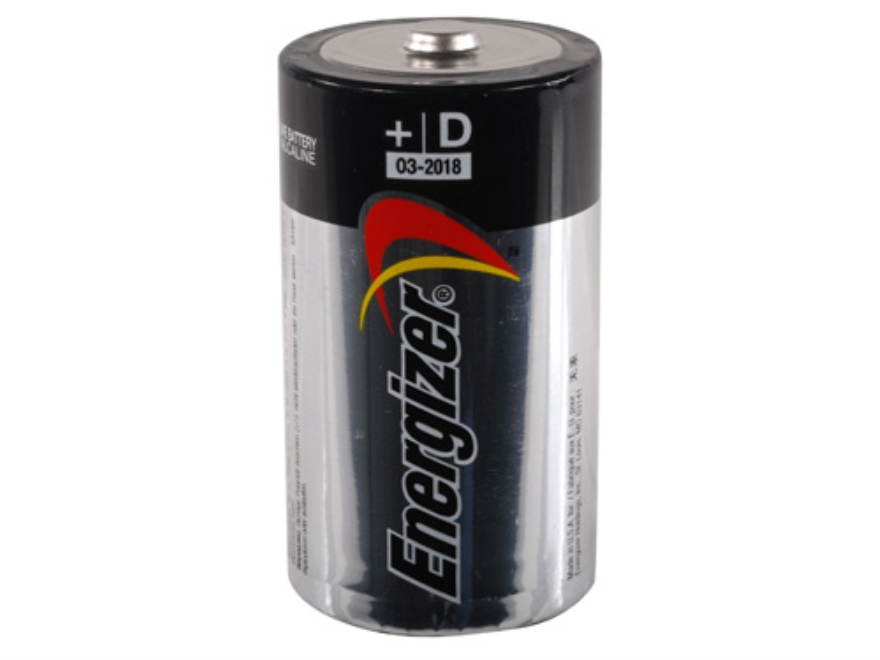 Energizer Battery D Max Alkaline Pack of 4