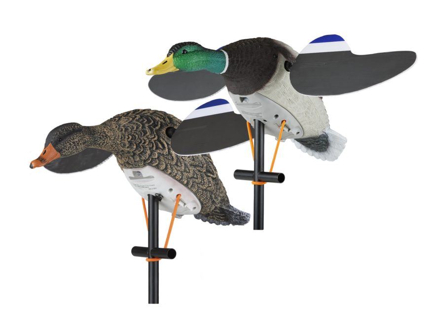 Lucky Duck Lucky Pair II Motion Duck Decoy Combo