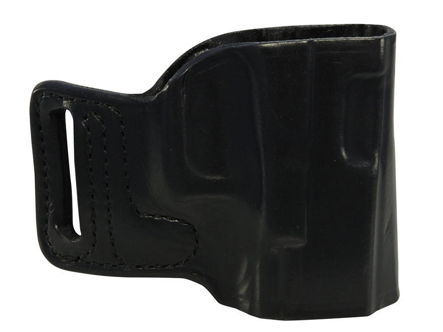 DeSantis E-Gat Slide Outside the Waistband Holster Right Hand Walther CCP Leather Black