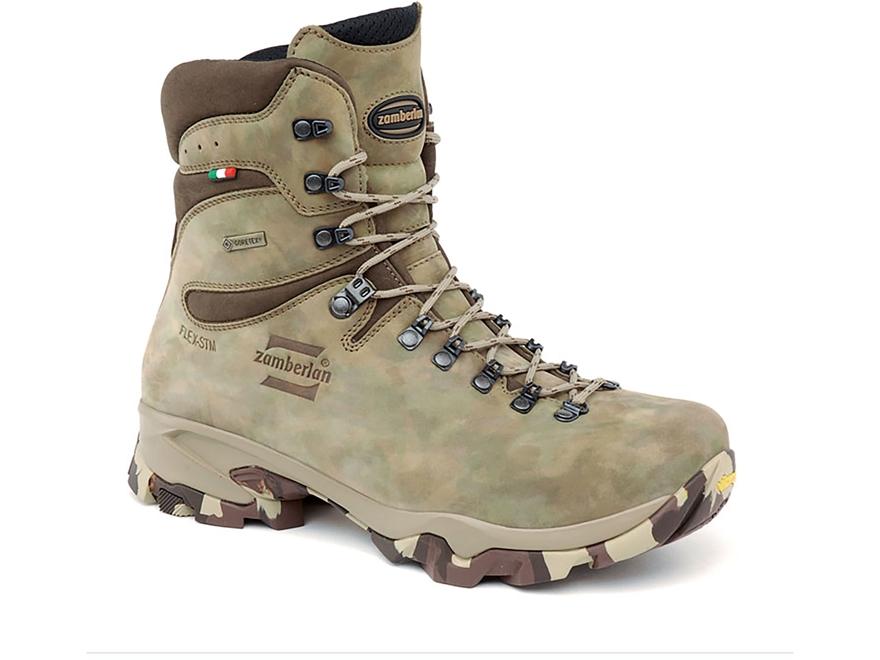 "Zamberlan Lynx Mid GTX 9"" Waterproof Uninsulated Hunting Boots Leather"