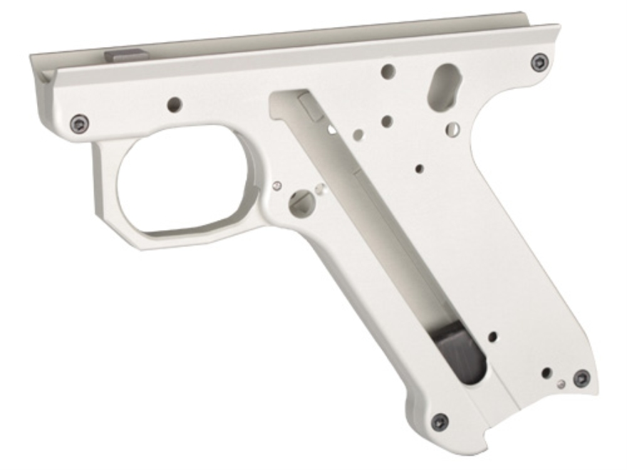 Volquartsen Lightweight Replacement Frame Stripped Ruger Mark II, Mark III Aluminum Silver