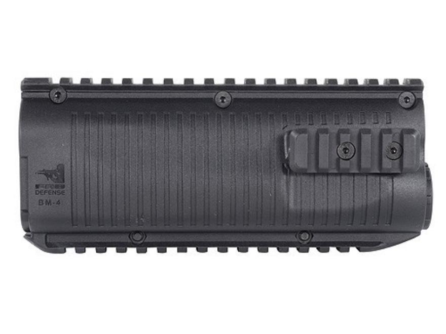 FAB Defense Quad Rail Forend Benelli M4 Polymer Black