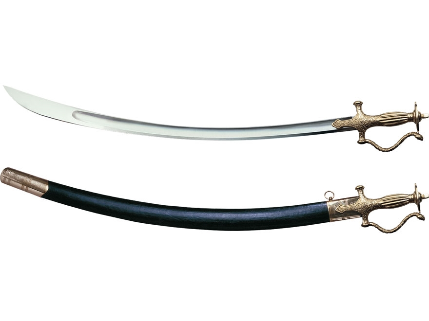 "Cold Steel Talwar Sword 28.75"" 1090 High Carbon Blade Brass Handle"
