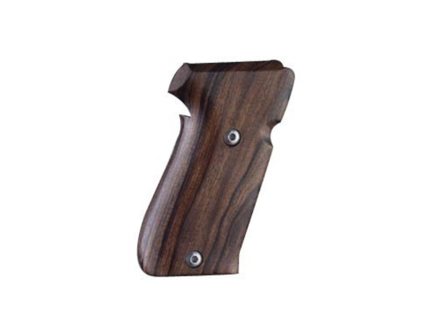 Hogue Fancy Hardwood Grips Sig Sauer P220 Side Magazine Release