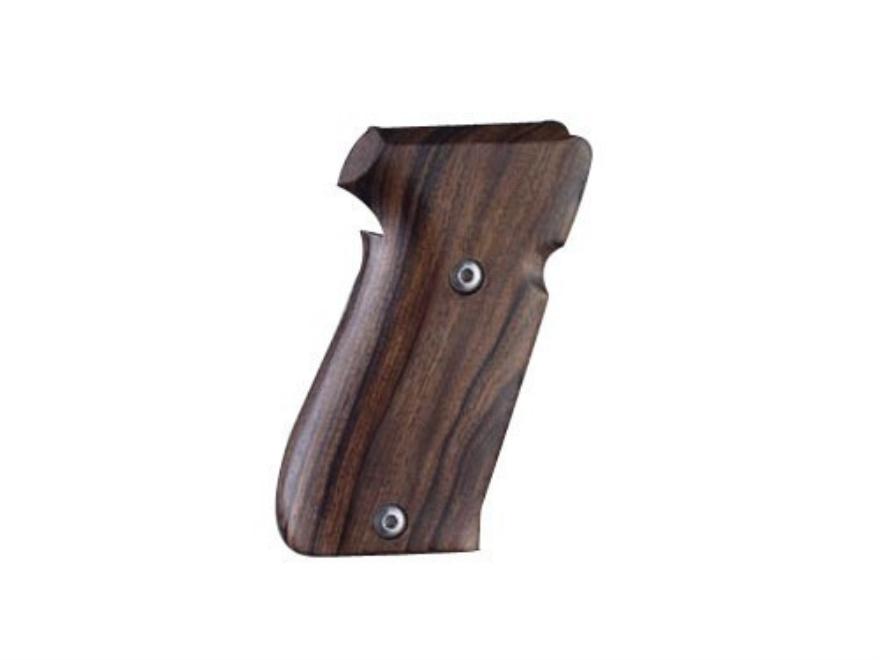 Hogue Fancy Hardwood Grips Sig Sauer P220 Side Magazine Release