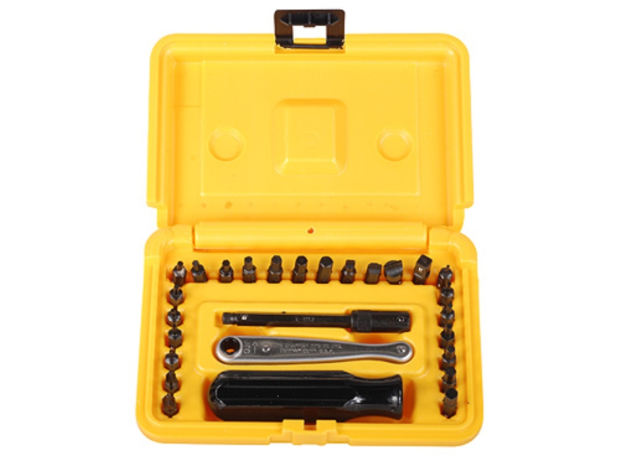 Chapman Model 7331 27-Piece Deluxe Screwdriver Set with Metric Hex Bits