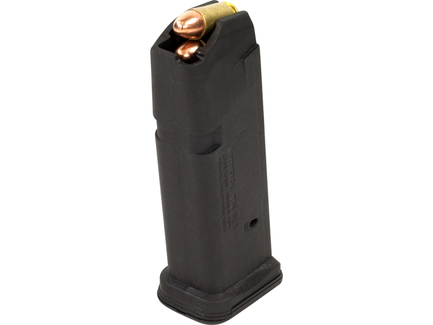 Magpul PMAG 15 GL9 Magazine Glock 19 9mm Luger 15-Round Polymer Black