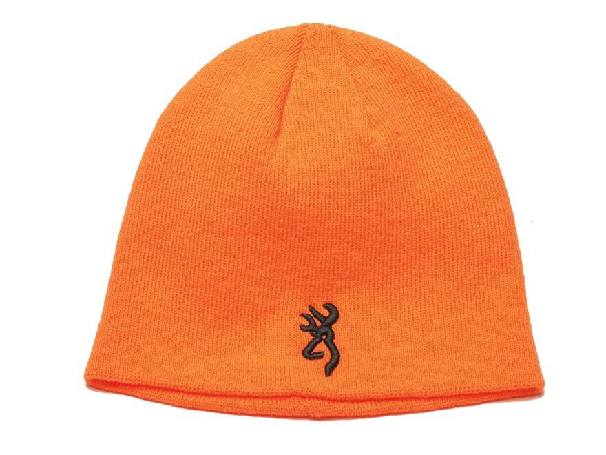 Browning Kenai Knit Beanie Polyester Blaze Orange