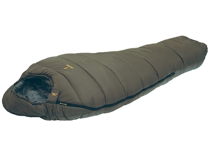 "Browning Denali Sleeping Bag 38"" x 80"" Nylon Clay"