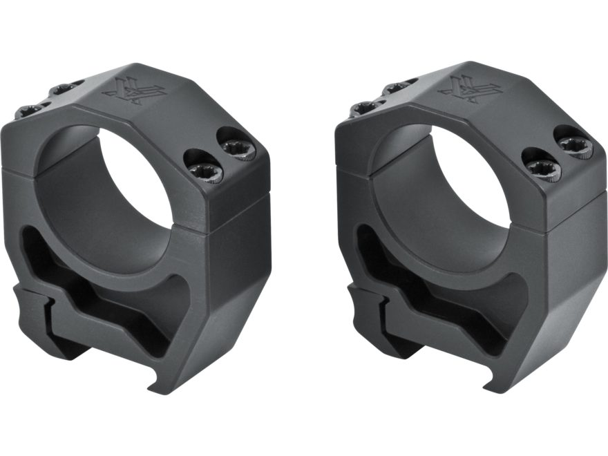 Vortex Optics Precision Matched Picatinny-Style Rings Matte