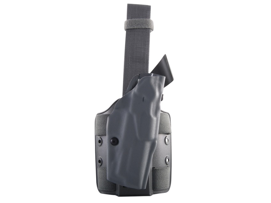 Safariland 6354 ALS Tactical Drop Leg Holster Right Hand S&W M&P 45 ACP Polymer Foliage...