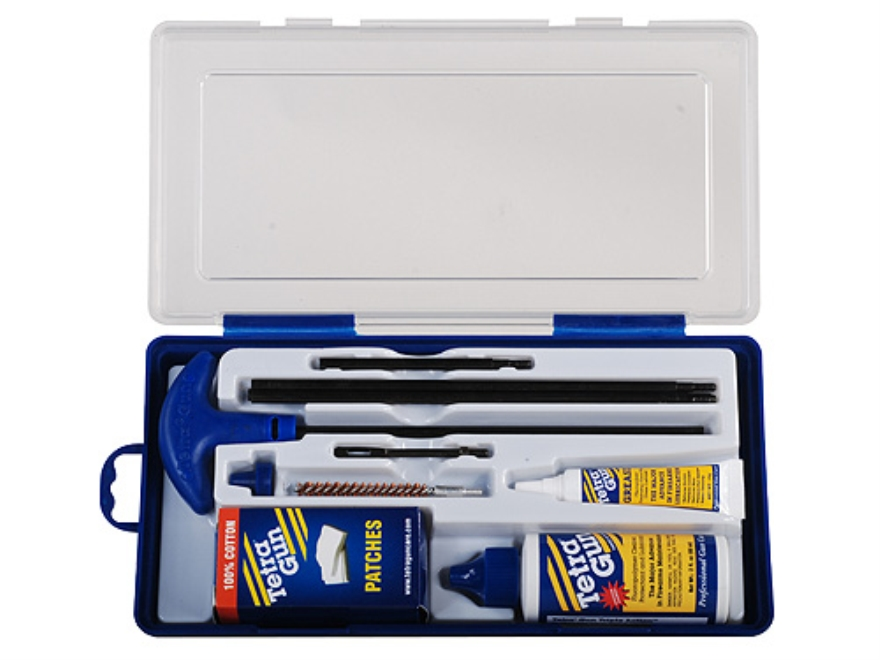 Tetra Gun ValuPro III Rifle Cleaning Kit 243 - 257 Caliber, 6mm in Hard Plastic Container