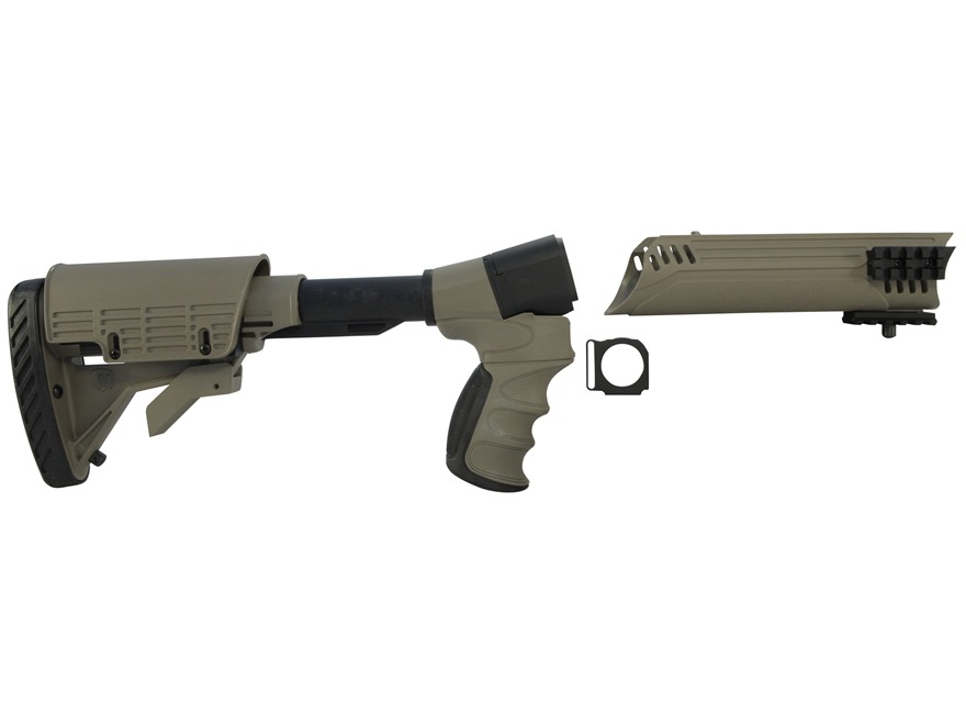 Advanced Technology Talon Tactical 6-Position Collapsible Stock and Forend Set with Tri...