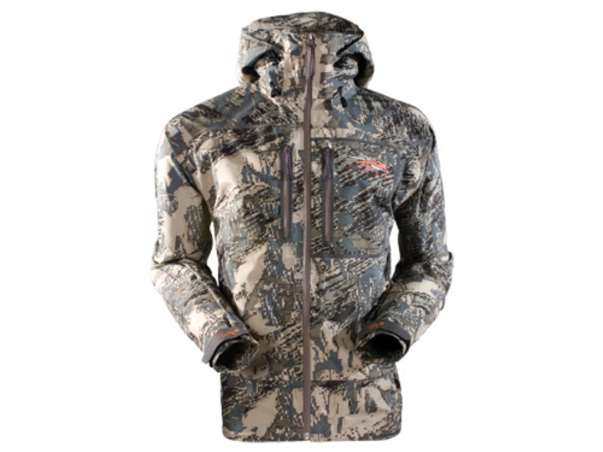 Sitka Gear Men's Stormfront Rain Jacket Waterproof Polyester Gore Optifade Open Country...