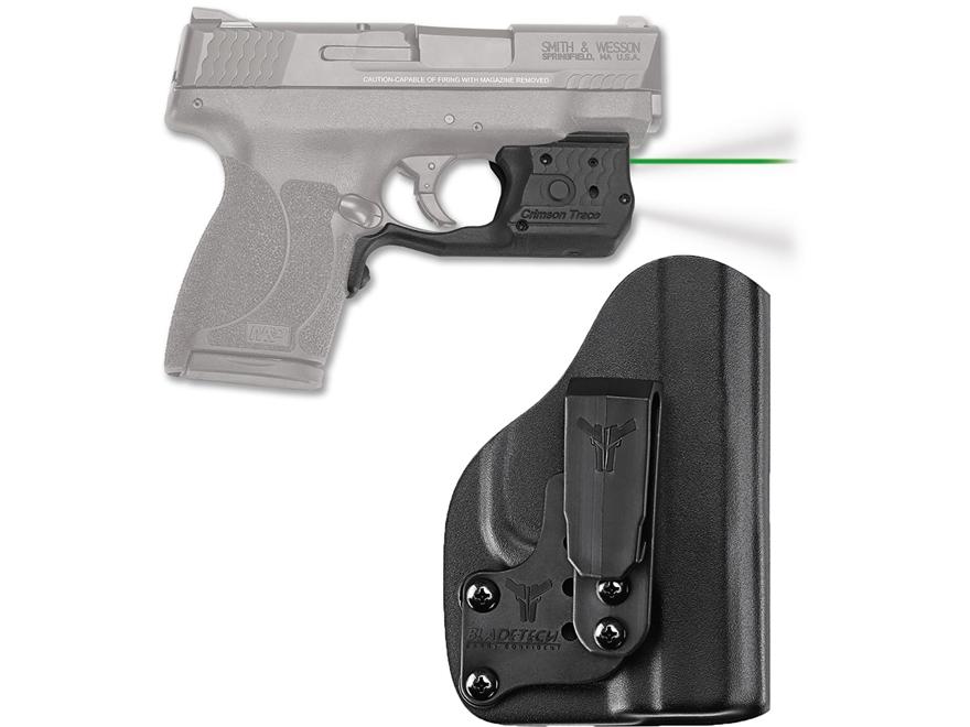 Crimson Trace Laserguard Pro Weapon Light White LED with Laser Sight S&W M&P Shield 45 ...
