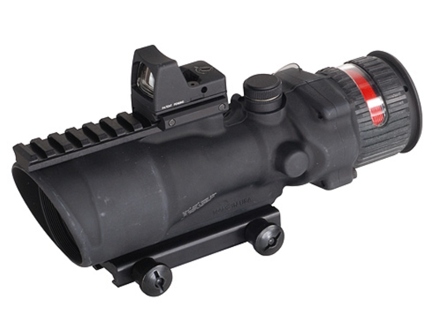 Trijicon ACOG TA648-RMR BAC Rifle Scope 6x 48mm Dual-Illuminated Red Chevron 223 Reming...
