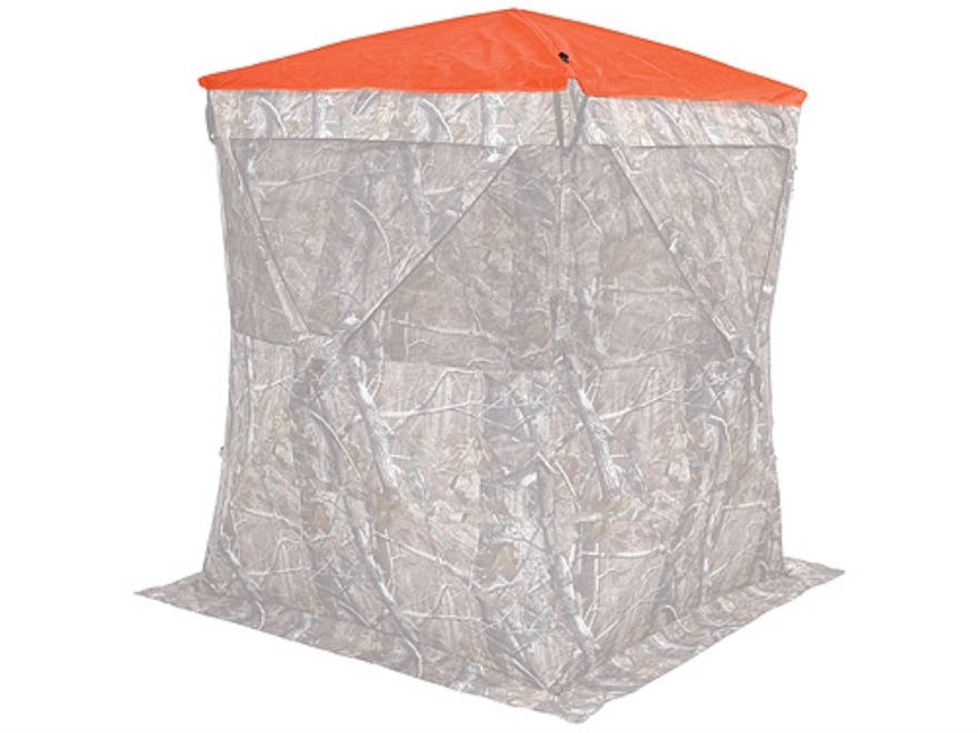 Ameristep Safety Ground Blind Cap fits Hub Blinds Polyester Blaze Orange
