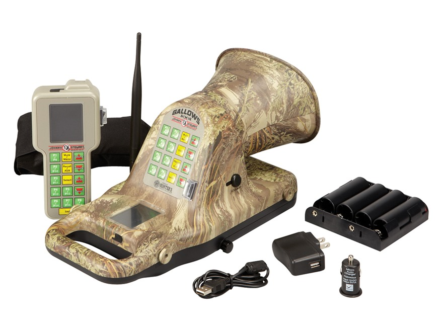 Johnny Stewart Gallows Electronic Predator Call with 75 Digital Sounds