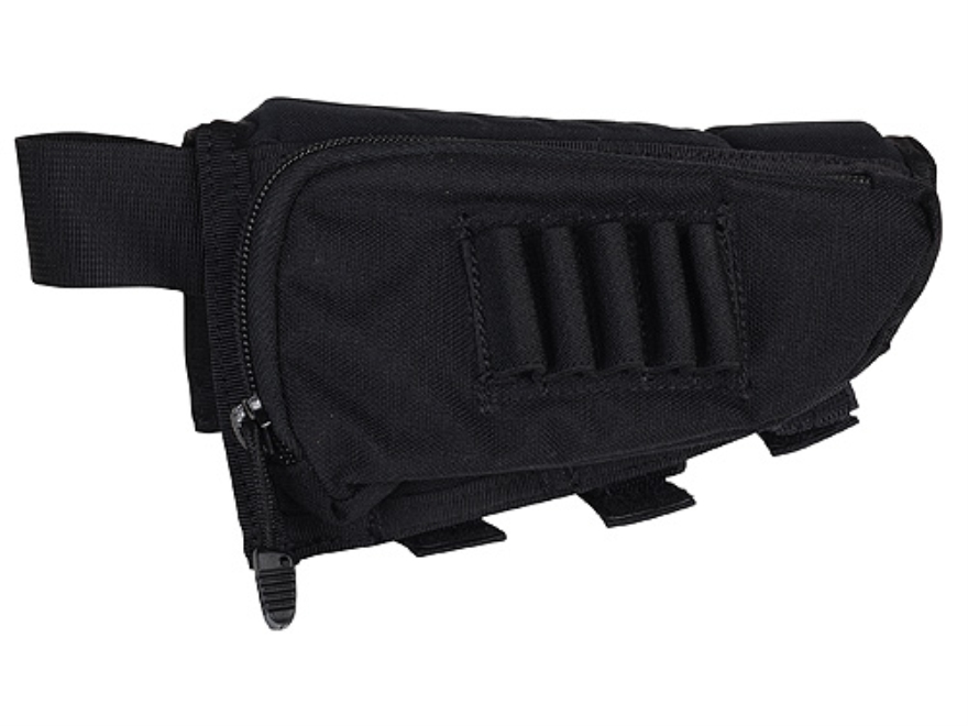 BLACKHAWK! IVS Performance Rifle Cheek Rest with Rifle Ammunition Carrier 5-Round Fixed...