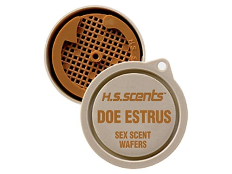 Hunter's Specialties Primetime Scent Wafers Doe Estrus Deer Scent Pack of 3