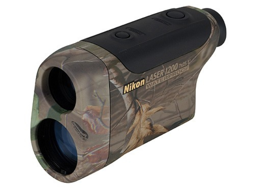 Nikon Monarch Gold Laser1200 Rangefinder 7x Hardwoods Green HD Camo