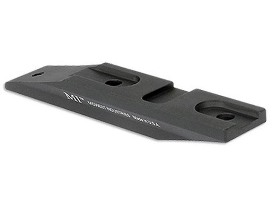 Midwest Industries QD Aimpoint Pro Off Set Riser Matte