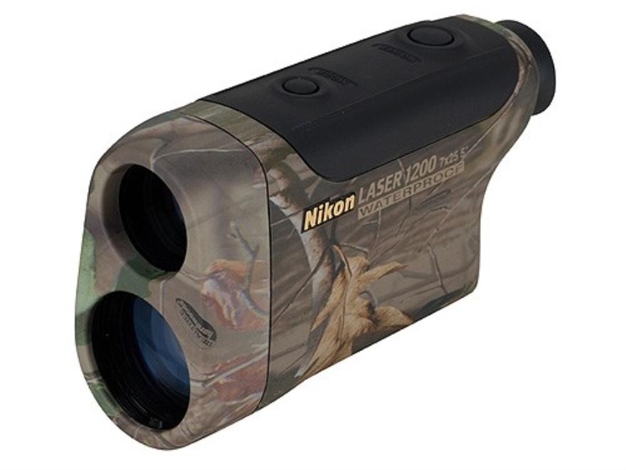 Nikon Monarch Gold Laser1200 Rangefinder 7x Hardwoods Green HD Camo