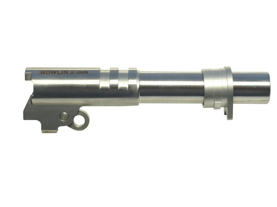 """Nowlin Prefit Barrel Kit 1911 Commander 9mm 4.25"""" Ramped Stainless Steel"""