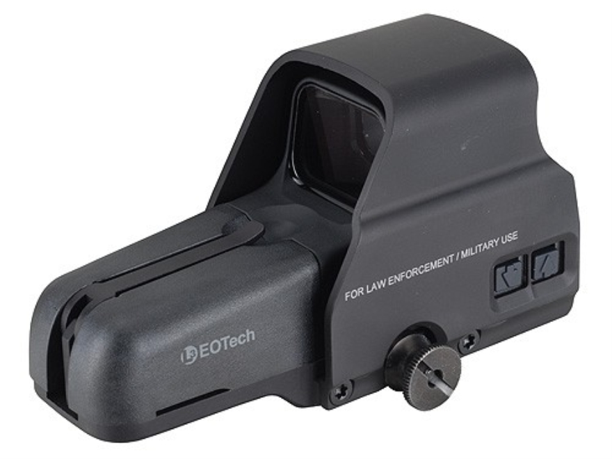 EOTech 516 Holographic Weapon Sight 65 MOA Circle with 1 MOA Dot Reticle Matte CR 123 B...