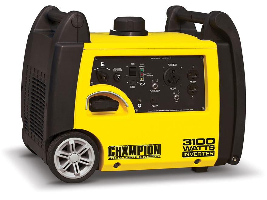 Champion 2800/3100 Watt Gas Powered Inverter  Generator