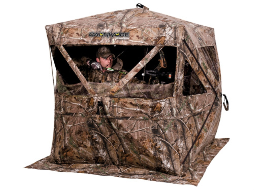 "Ameristep Carnivore Ground Blind 74"" x 74"" x 67"" Polyester Realtree AP Camo"