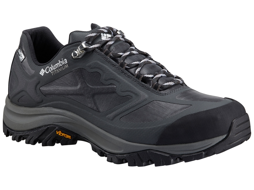 "Columbia Terrebonne Outdry Extreme Low 4"" Waterproof Hiking Shoes Leather Black/White M..."