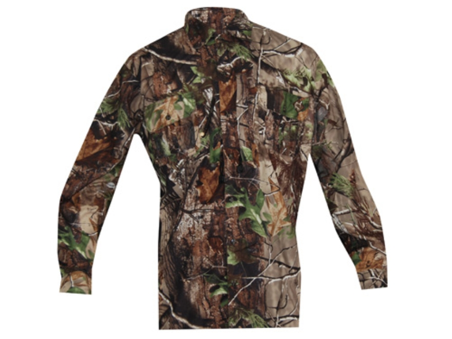 Ol' Tom Men's Vestless Mesh Back Shirt with Spine Pad Long Sleeve Polyester Realtree AP...