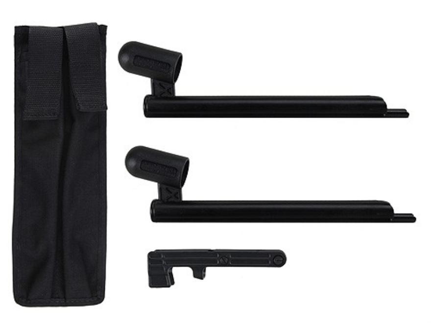 TecLoader Shotgun Speedloader Kit Mossberg 500, 590 12 Gauge Polymer Black