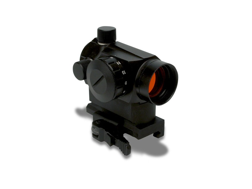 "Konus SightPro Atomic Tactical Red Dot Sight 1x 4 MOA Dot with Quick Release 1"" Picatin..."