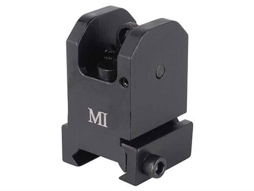 Midwest Industries Fixed Rear Sight AR-15 Flat-Top Aluminum